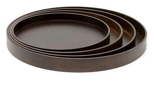 Round Wood Serving Tray  sc 1 st  Pinterest & Round Wood Serving Tray | #KBIS 2014 - Las Vegas | Pinterest | Sushi ...