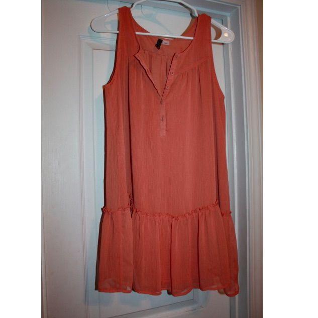H&M Peach Tunic Dress
