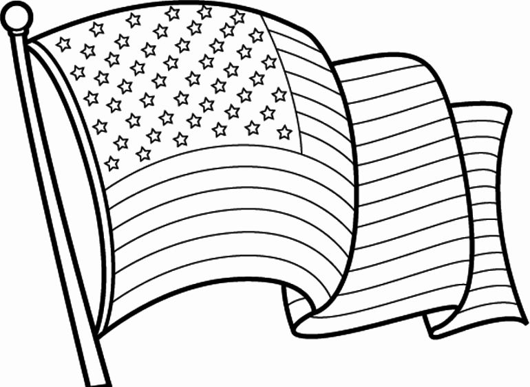American Flag Coloring Page Pdf Beautiful Clipart Of American Flag