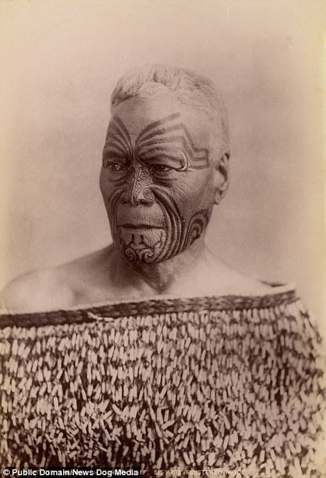 cfa0035c6 This stunning portrait from the 1890s shows an elderly Maori woman with  intricate markings across her face. When Captain James Cook made his first  voyage to ...