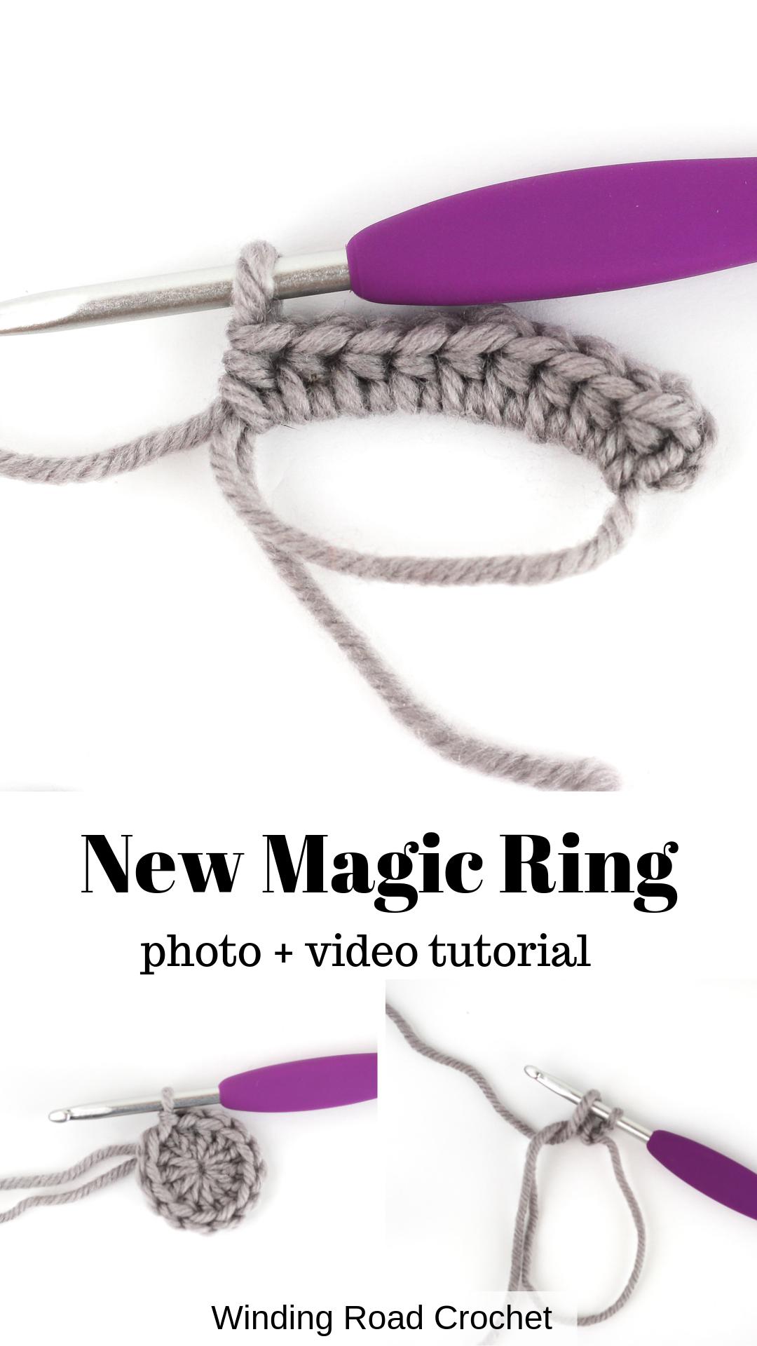 Magic Circle Tutorial: A New Method – Winding Road Crochet – Nähen