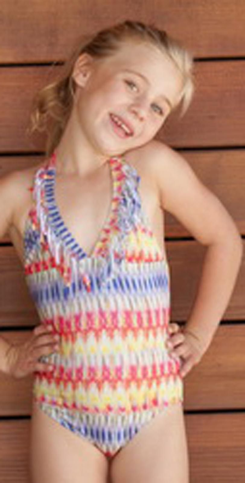 kids' swimwear Every kid needs an awesome swimsuit that both they love and their parents approve of. So, whether you're taking your child to the beach or to the pool, you're going to need a great-quality swimsuit to put them in.