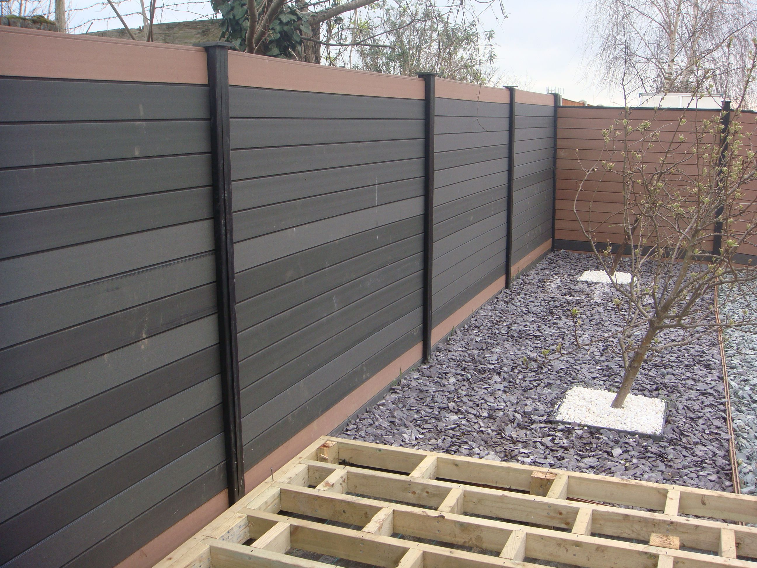 Composite Fence Panel 1830mm Wide Deck Supermarket