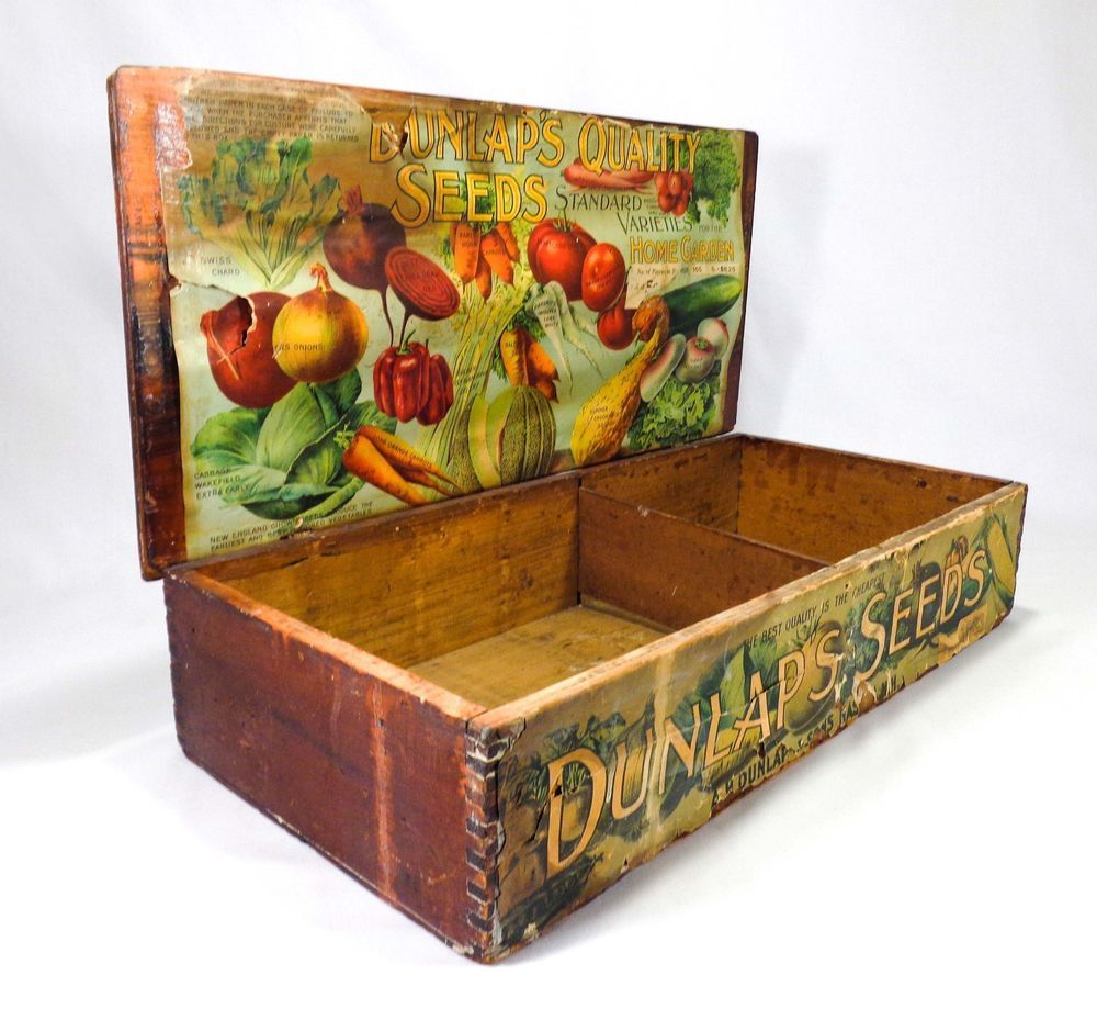 Pin On Early Advertising Wooden Crates Boxes