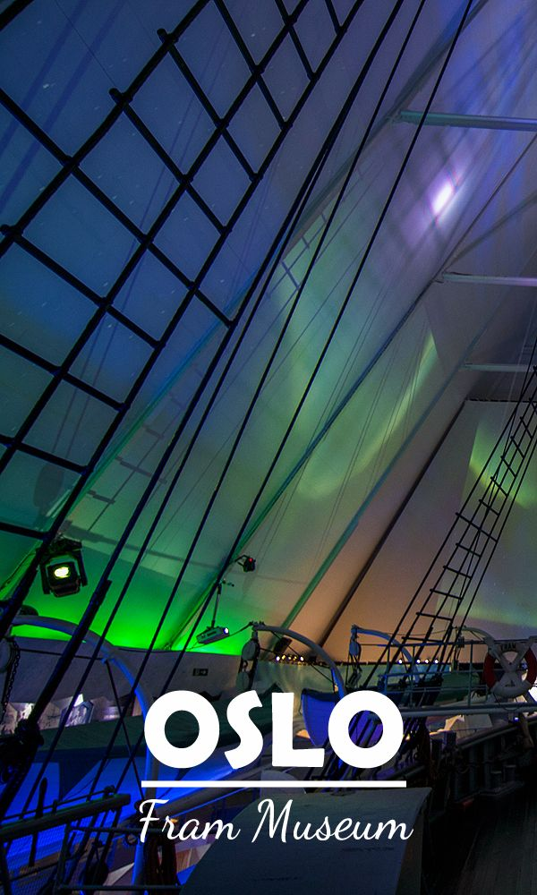 Northern Lights in the Polar ship Museum Fram #Oslo ...