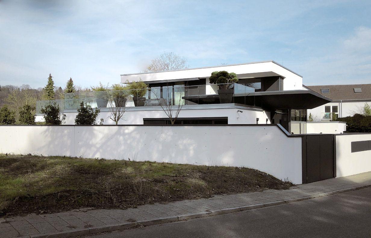 Architektenhaus Karlsruhe mit Flachdach, 1,5gesch