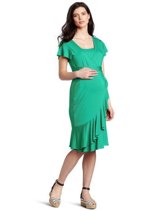 Amazon Com Ripe Maternity Women S Maternity Flounce Nursing Dress Clothing Nursing Dress Ripe Maternity Womens Maternity