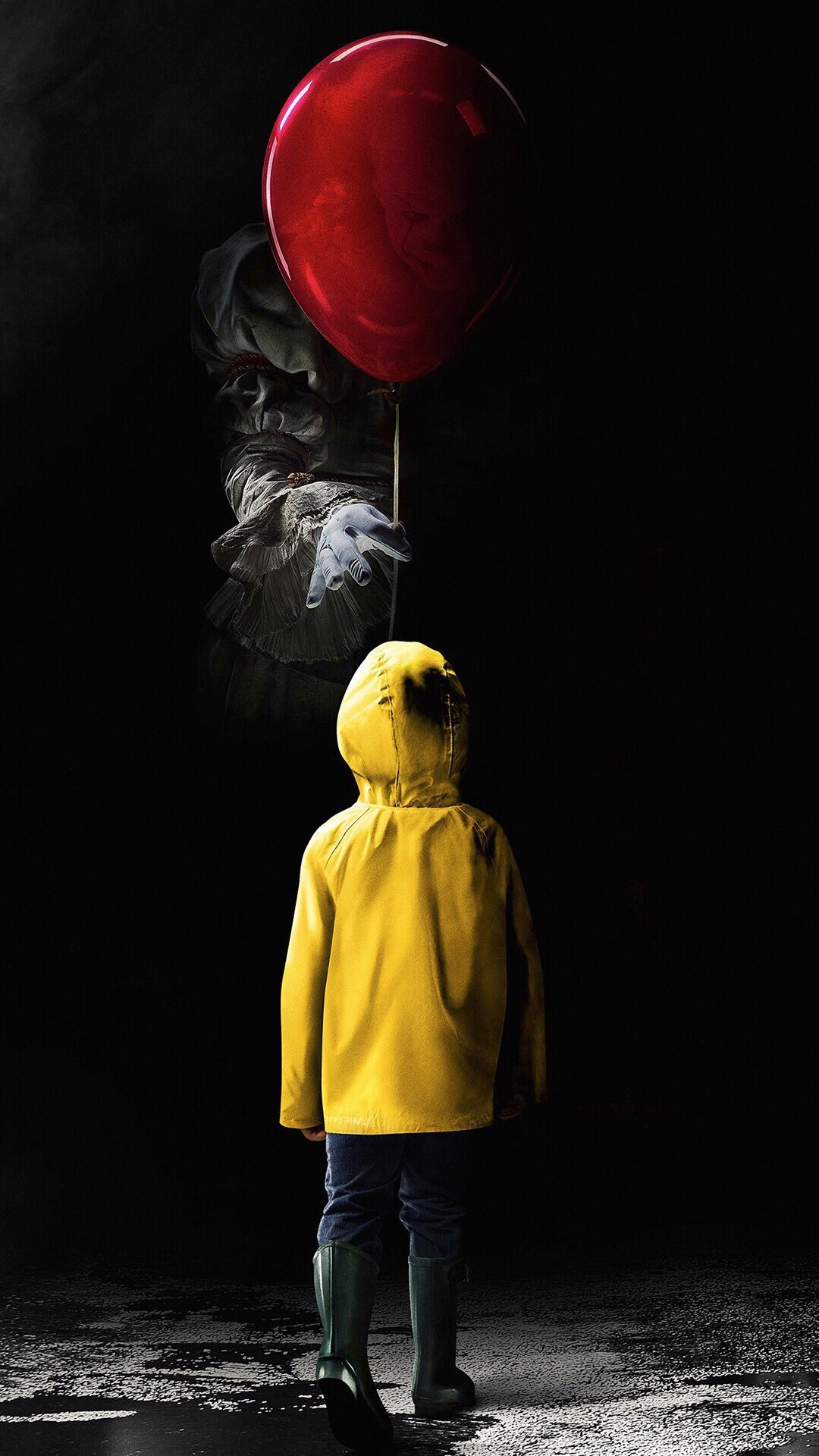 Pin by نجوى on Block b Scary wallpaper, Pennywise the