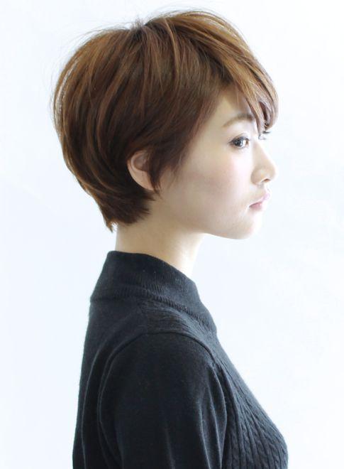 【ショートヘア】大人シルエットショート/BEAUTRIUM 表参道の髪型・ヘアスタイル・ヘアカタログ|2016春夏