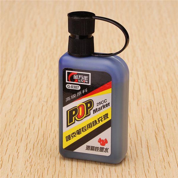 25cc genvana recarga de tinta para rellenar el alcohol rotulador pop