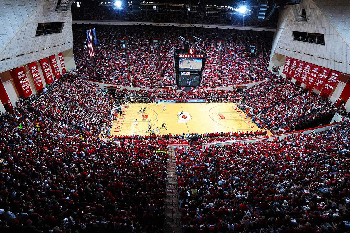 Our Iuhoosiers Basketball Program Led The Big Ten In Attendance Last Season Thank You For All The Support Hoo Indiana University Indiana Basketball Big Ten
