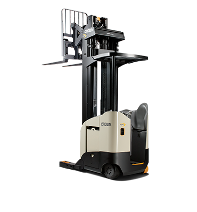 Reach Trucks Reaching New Heights In Productivity With Breakthrough Lift Heights Capacities Visibility And Energy Savin Forklift Safety Forklift Save Energy