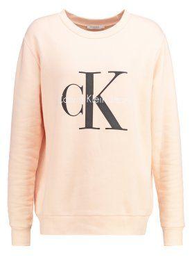 Calvin Klein Jeans Collegepaita - orange  - Zalando.fi