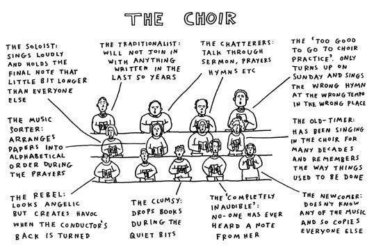 Typical choir members! Choir quotes, Choir, Choir humor
