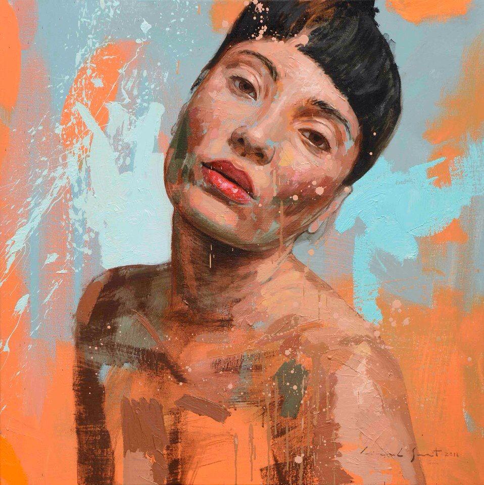 Lionel smit portraiture pinterest for Contemporary mural artists