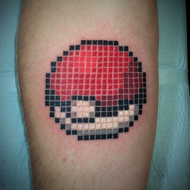 Get The Glitch With These Pixel Art Tattoos Tattoo - Artist creates amazing animal tattoos with digital pixel glitches