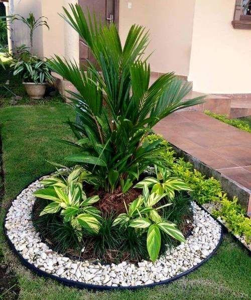 Resultado de imagen para paisajismo con piedras y arbustos for Jardines verticales panama