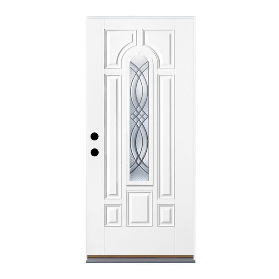 Therma-Tru Benchmark Doors TerraCourt 8-Panel Insulating Core Center Arch Lite Right-  sc 1 st  Pinterest & Therma-Tru Benchmark Doors TerraCourt 8-Panel Insulating Core Center ...