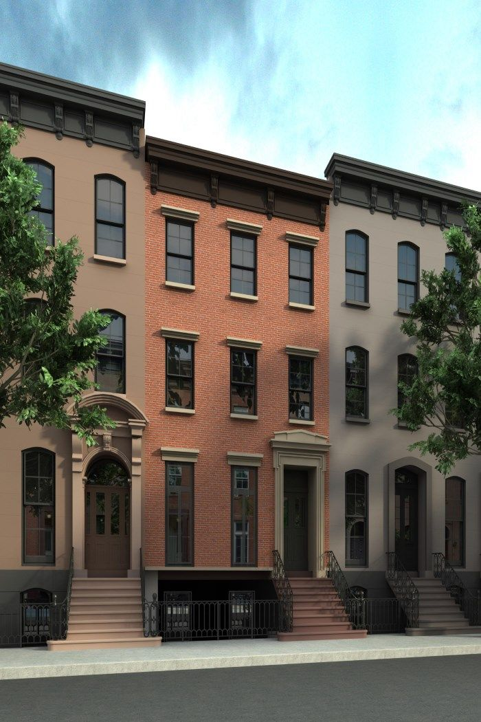 353 West 20th St. Is An Exceptional 23 Ft-wide Greek