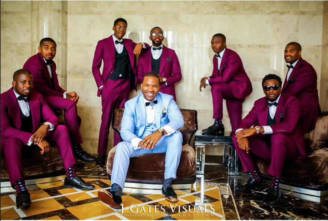 Image result for dashing nigeria groomsmen outfits