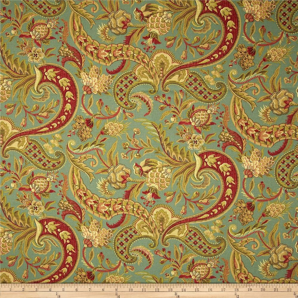 Waverly Rhapsody Vintage from @fabricdotcom Screen printed on cotton ...