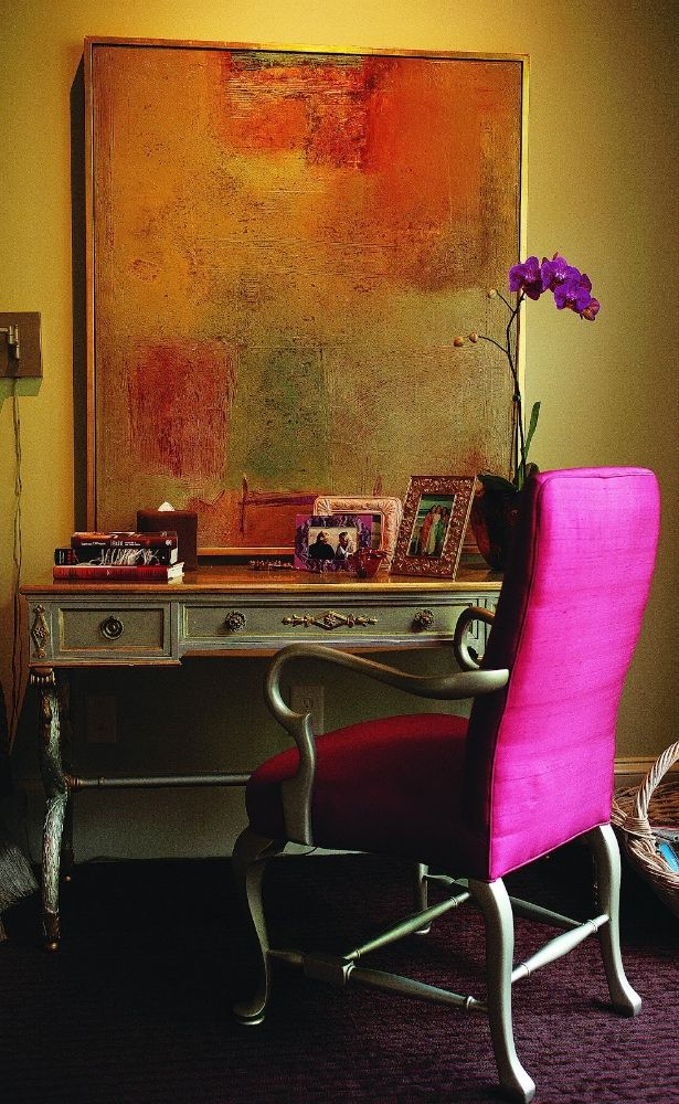A desk to work — Color Exploration: Paint it Spice! — Spectacular Design Interiors