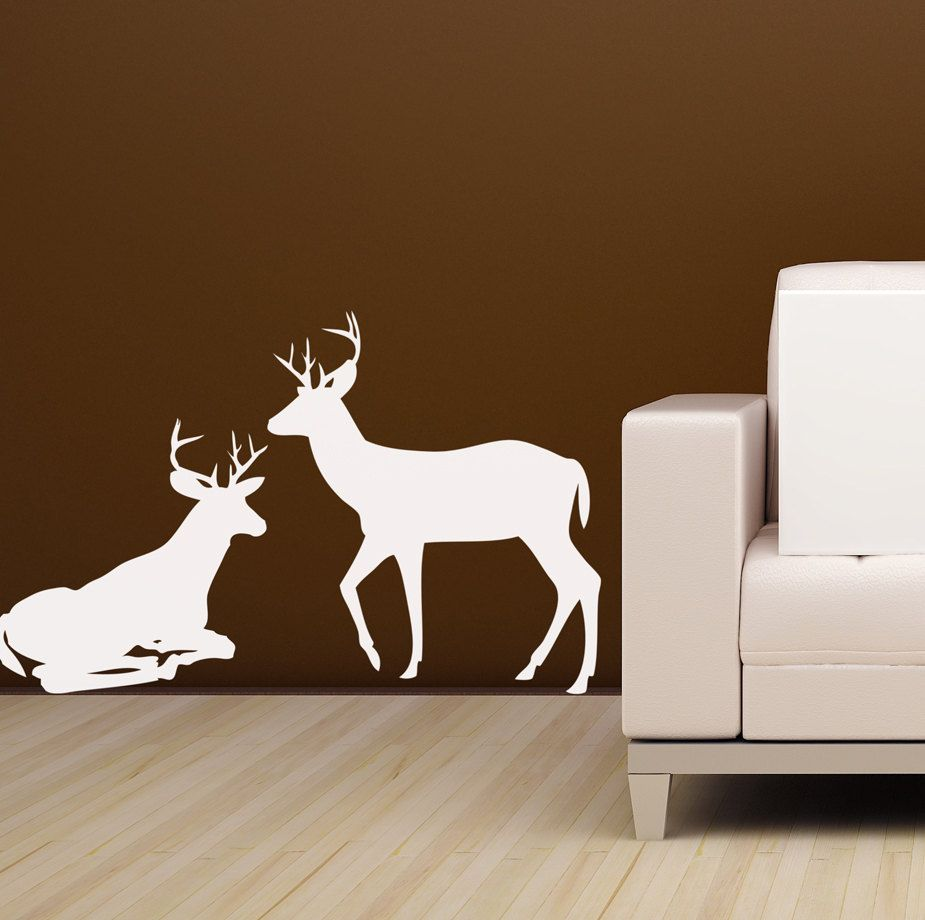 I Wish I Had Somewhere In My Room To Put This So Pretty Deer - How to put a decal on my wall