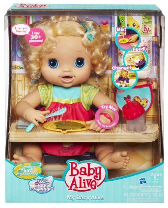 Robot Check Baby Alive Dolls Little Girl Toys Baby Alive