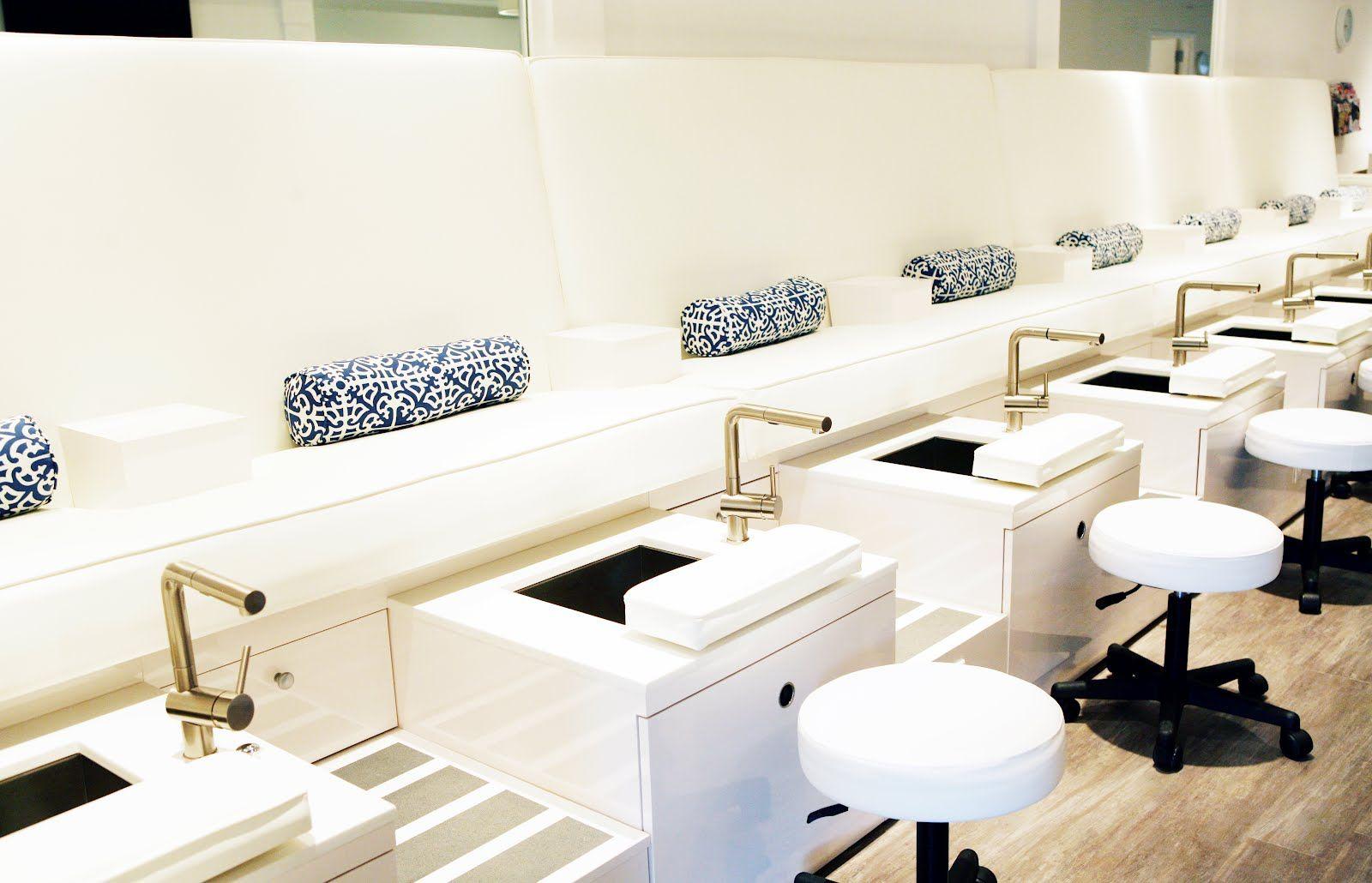 Usa Gallery Of Salon Spa Design Station Pedicure Salon Esthetique Decor Du Salon D Ongle