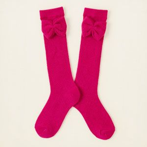 girl - accessories - bow knee socks | Children's Clothing | Kids Clothes | The Children's Place