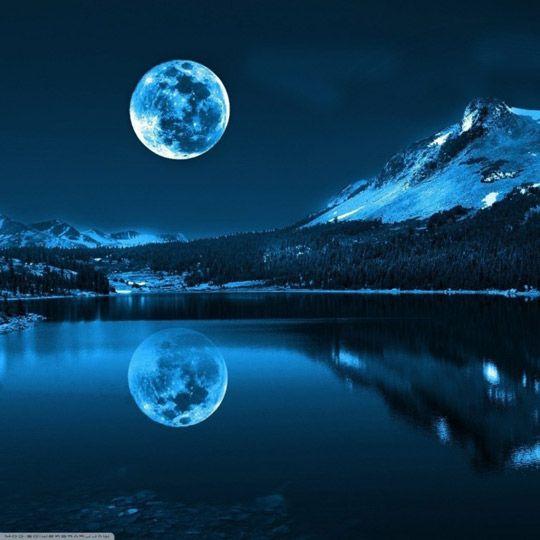 Удивительные лунные пейзажи фото, красивая луна в 2020 г ...