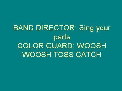 band director on Tumblr