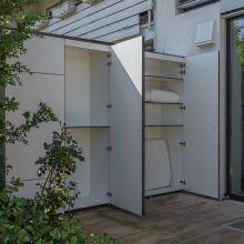 Balkonschrank Terrassenschrank Gartenschrank Garten Holz Im Garten