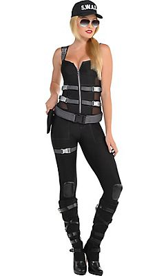 adult armed dangerous swat costume - Swat Costumes For Halloween