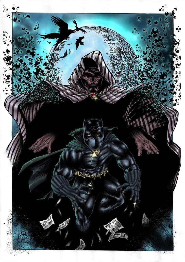 Cloak &  Black Panther - Javier Jordan Sola