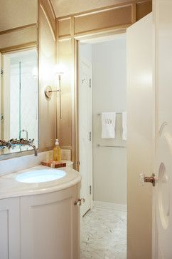 Metropolitan Chic in Boston's Tony Back Bay - contemporary - bathroom - boston - Mary Prince