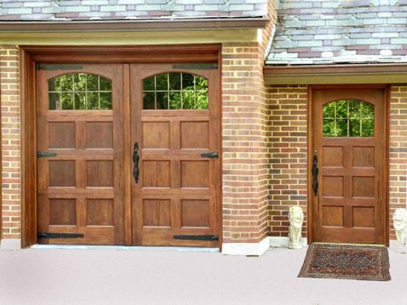 Garage Hinged Door Garage Doors Wooden Garage Doors Custom