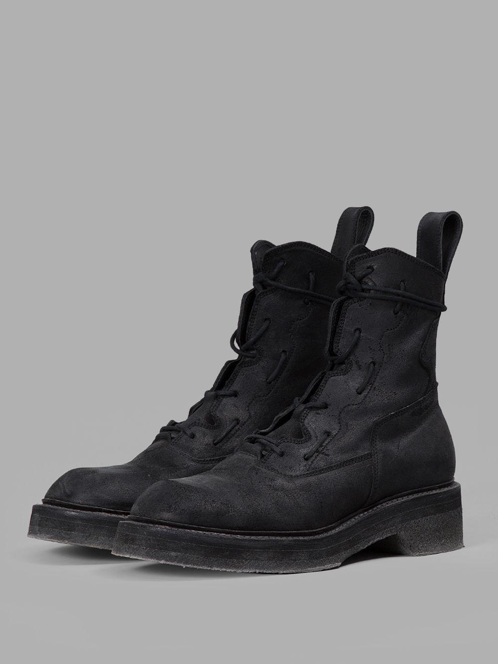 bf94d5be581ed Julius Boots 547FWM1M BLACK