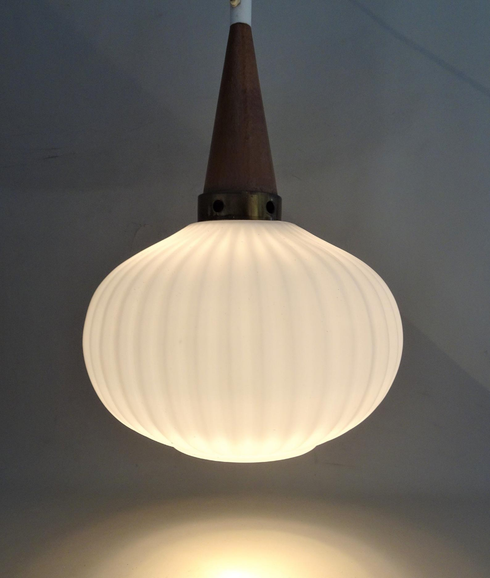 Mid Century Pendant Light  Vintage Pendant Lamp  50/'s Yugoslavia  Ceiling Light  Retro Light  Rewired Vintage Light  Home Decor