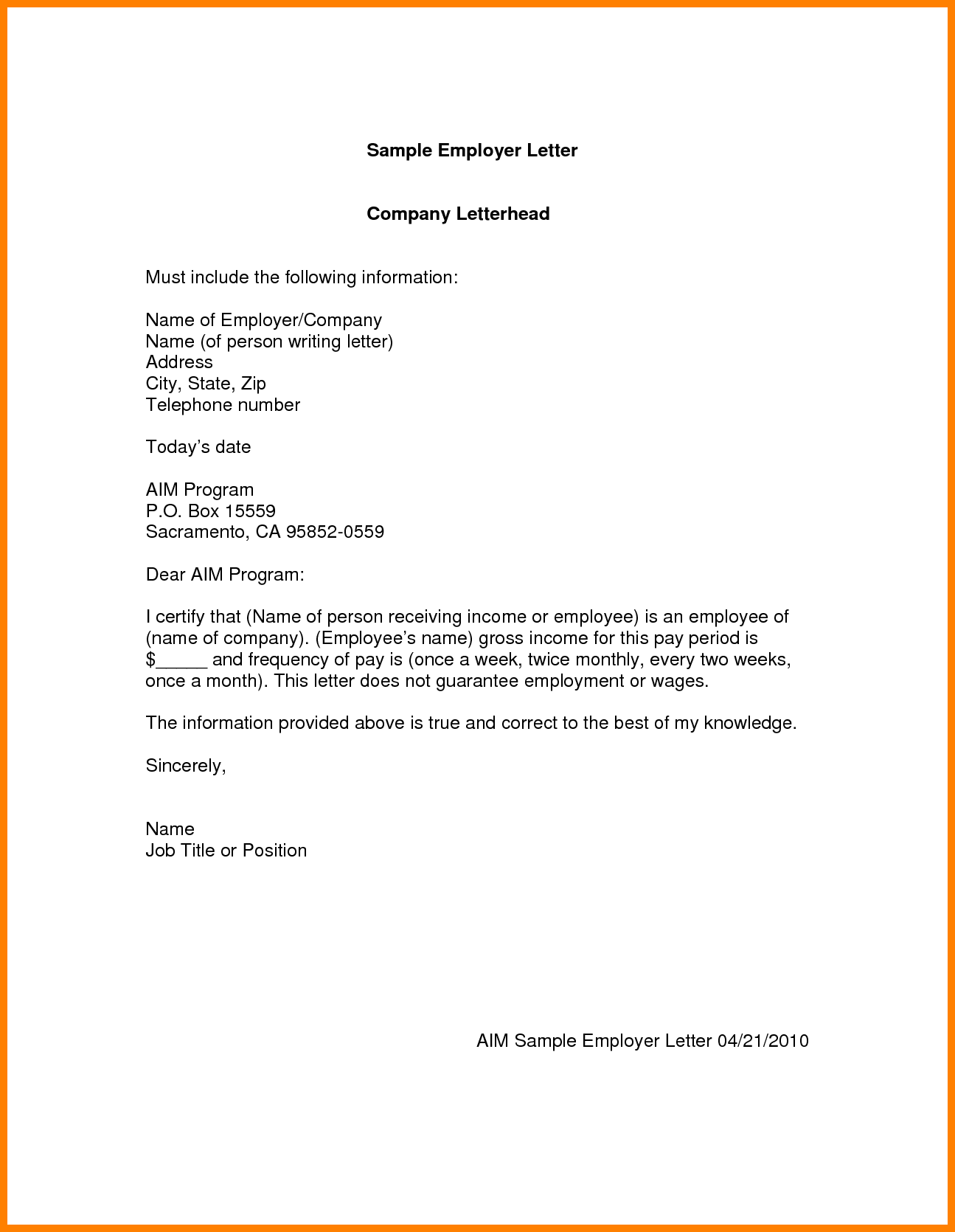 Employee Writing Good Application Letter Example Job Sample Write
