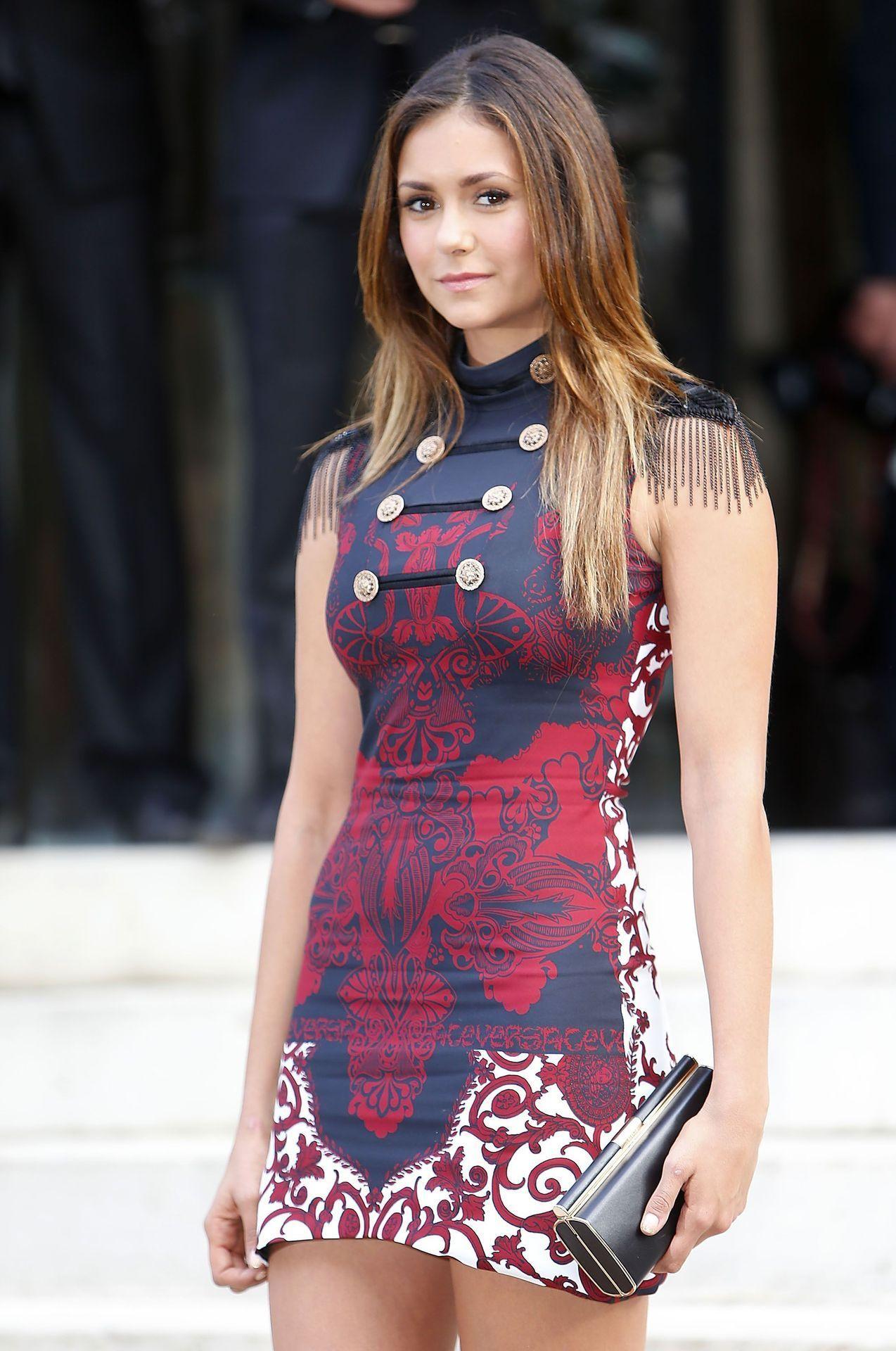 Sexyandfamous Nina Dobrev Dresses Fashion Nina Dobrev