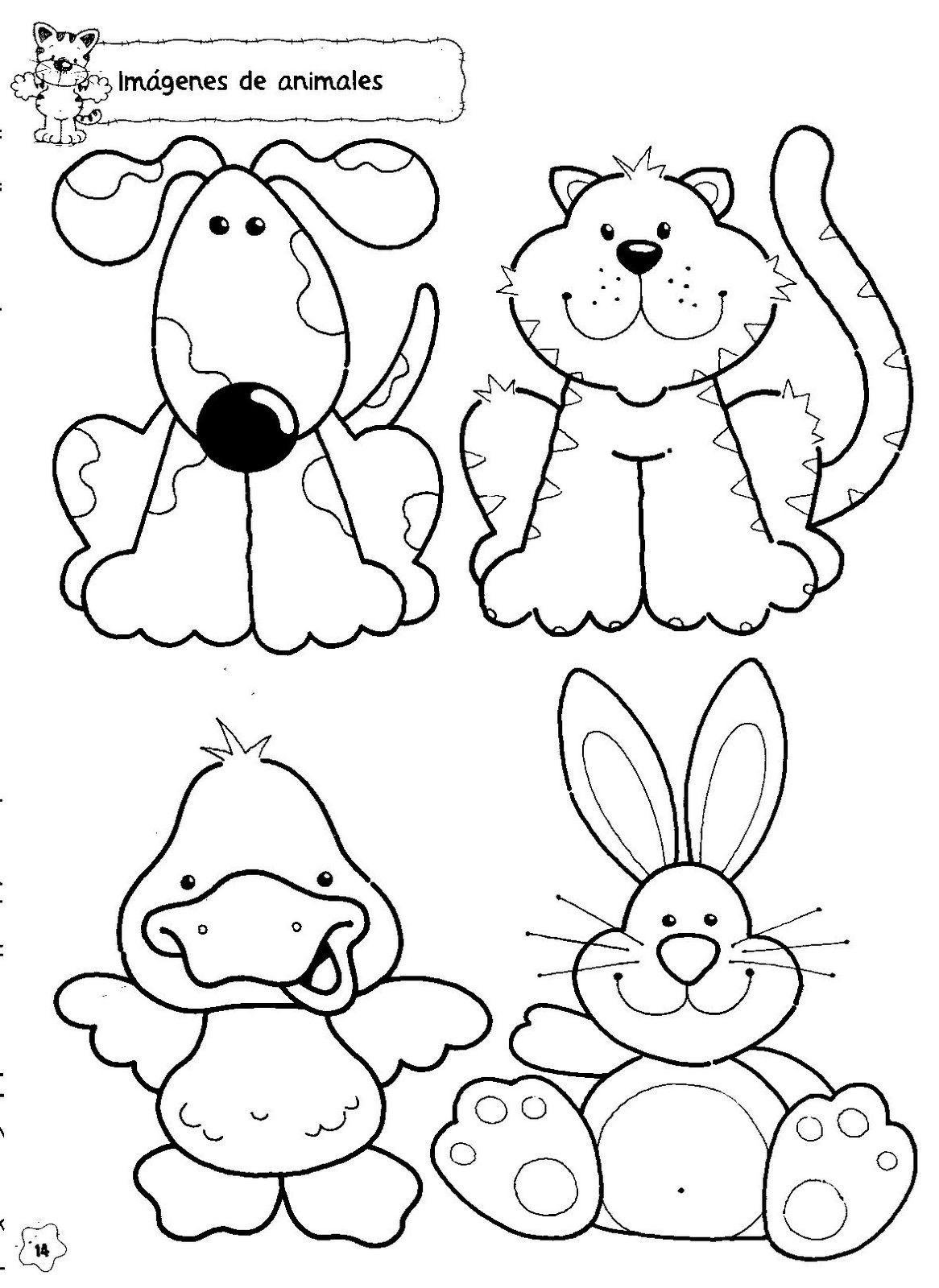 Ausmalbilder Katzen Und Hasen : Animales Classroom Activities Actividades Para El Aula Pinterest