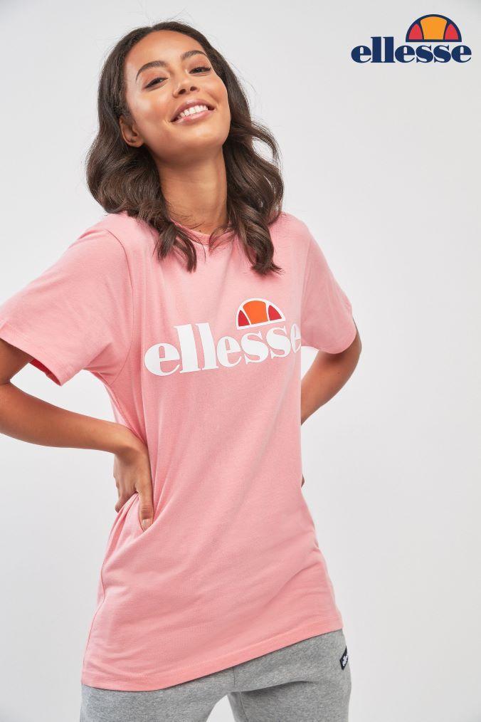 53b5f74f Womens Ellesse Albany Tee - White | Products | Ellesse, Tees, Uk online