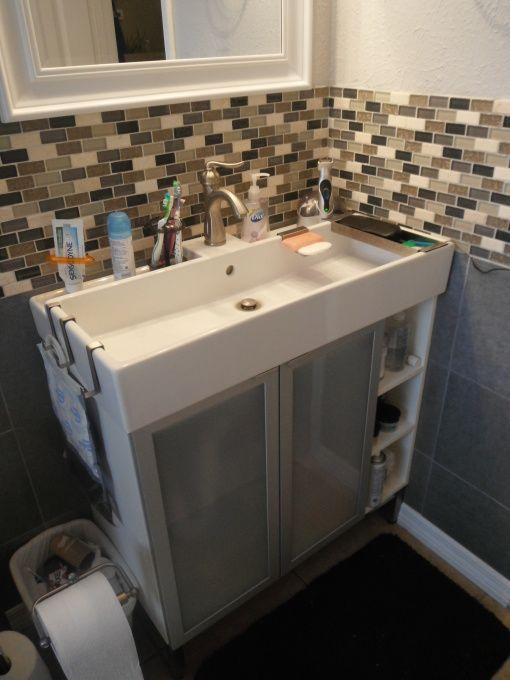 astonishing ikea bathroom design ideas | New vanity from Ikea , Bathrooms Design for cramped ...