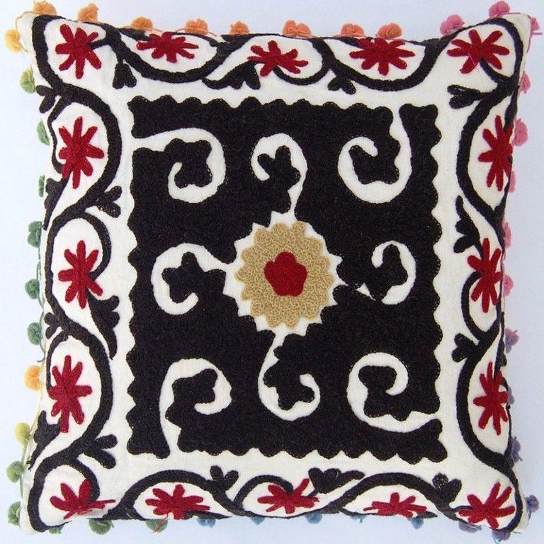 Suzani Pillow Covers Turkish Designs