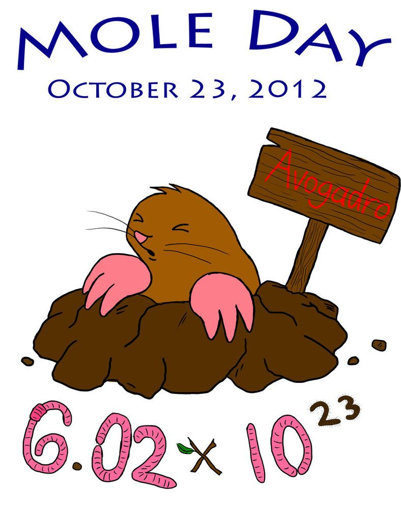 Mole Day! by ~SonicDevotion on...