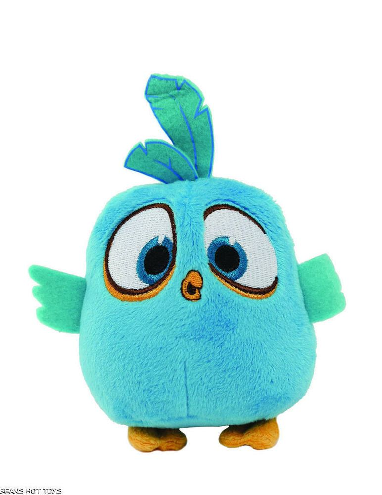 Angry birds blue bird 5 inch plush 2016 toy nwt angry birds plush and bird - Mighty eagle plush toy ...