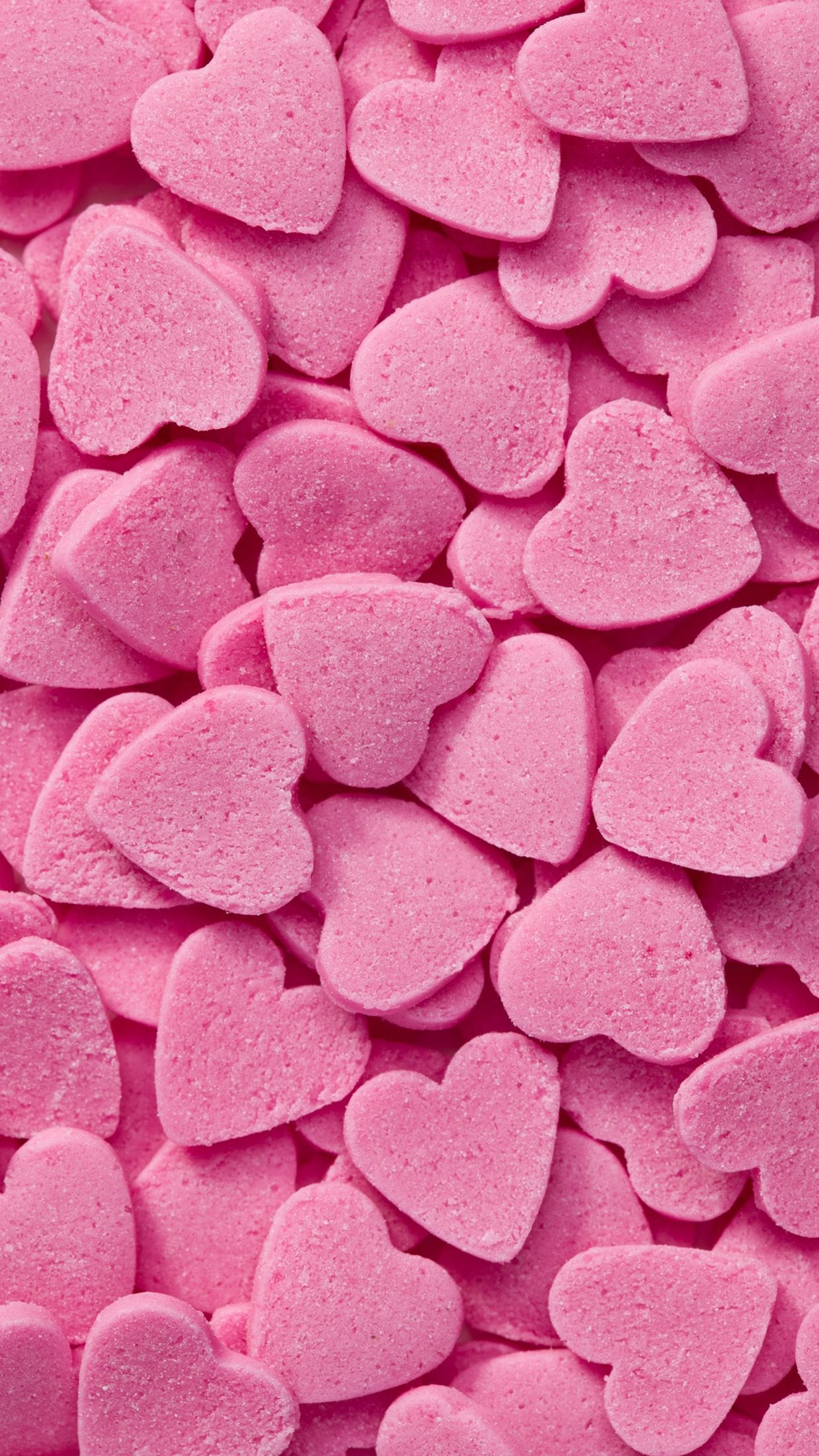 Pink Candy Hearts Pink Wallpaper Iphone Pink Aesthetic Pink Iphone