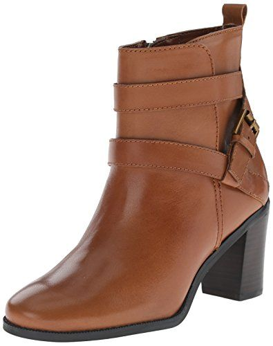 Lauren Ralph Lauren Women's Cassy Boot, Polo Tan Burnished Vachetta, 5.5 B  US Lauren