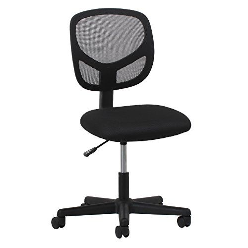 90 kg Capacity Comfortable HWD: 102 x 55 x 55 cm Relaxdays Office Desk Chair Height-Adjustable Kids Swivel Chair Green